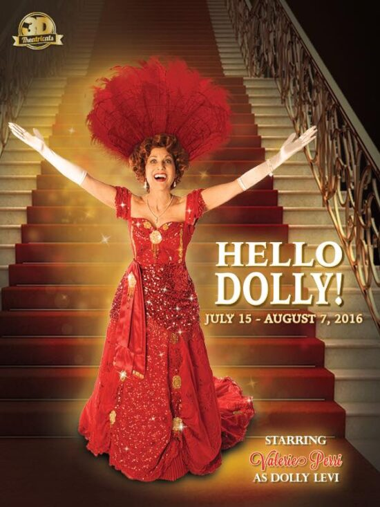 Valerie Perri as Dolly Levi in Hello Dolly